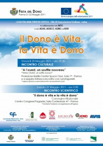 Festa Del Dono 2011