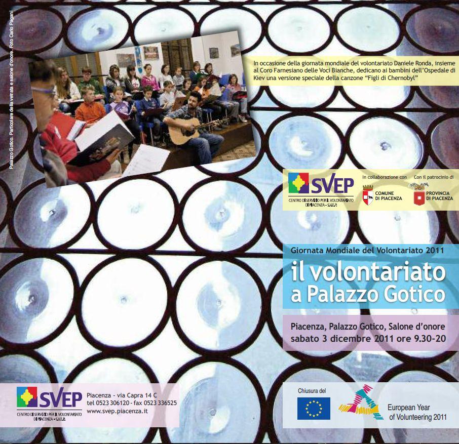 Piacenza: Il Volontariato a Palazzo Gotico