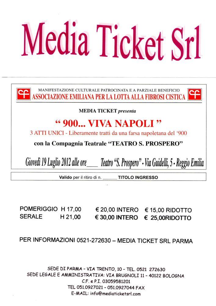 Spettacolo benefico il 19 luglio a Reggio Emilia