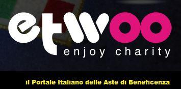 Etwoo.it: portale italiano delle aste di beneficenza