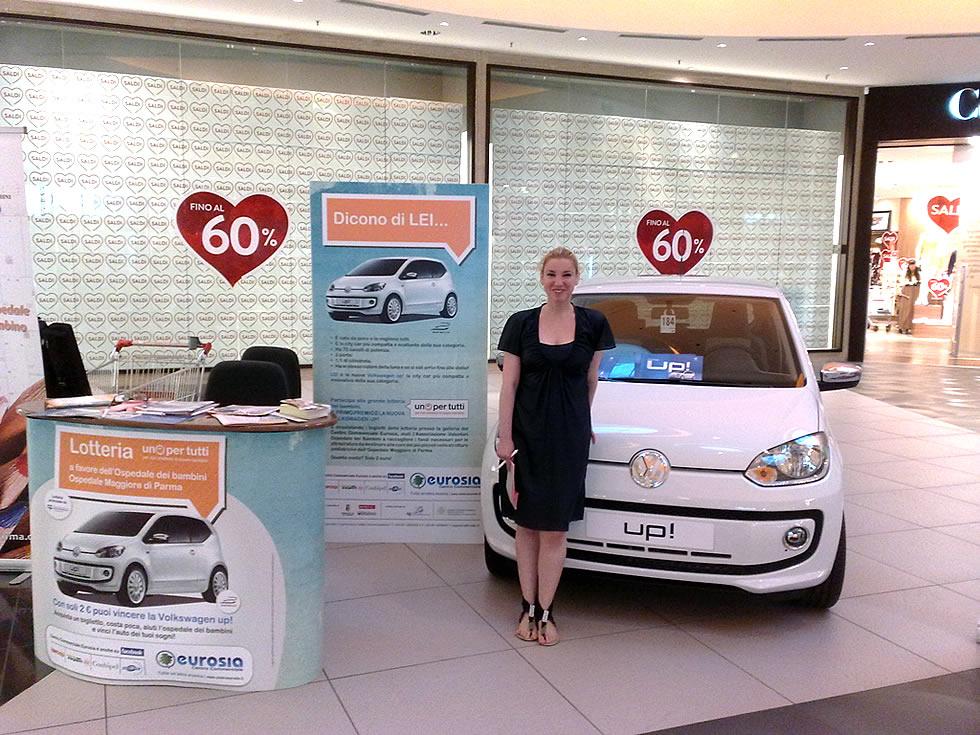 Lotteria benefica al Centro Commerciale Eurosia di Parma