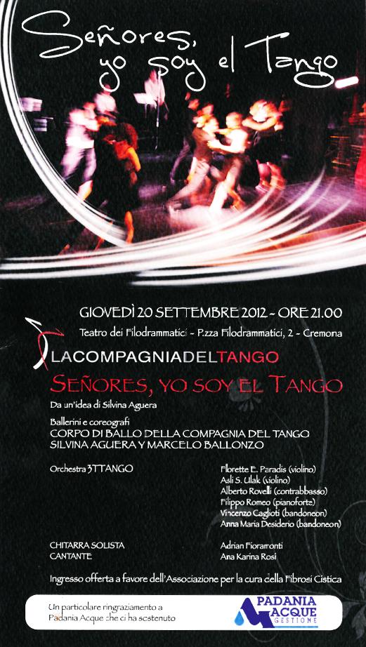 Tango benefico a Cremona