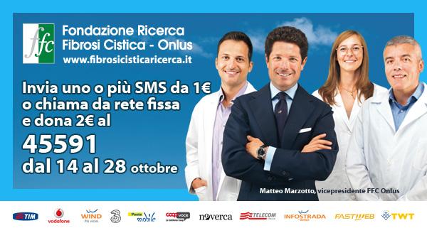 Partita da Parma la corsa per la ricerca!