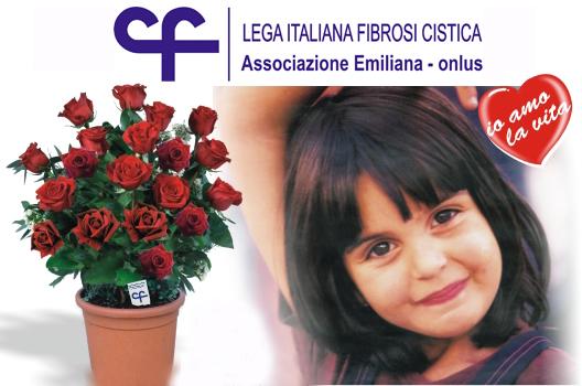 Una rosa per la vita alla Mostra-mercato di Colorno (Pr)