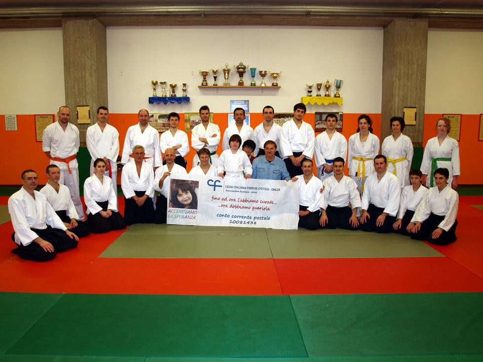 Solidarietà di Aikido Nippon-Kanstyle a favore dell'Associazione Emiliana