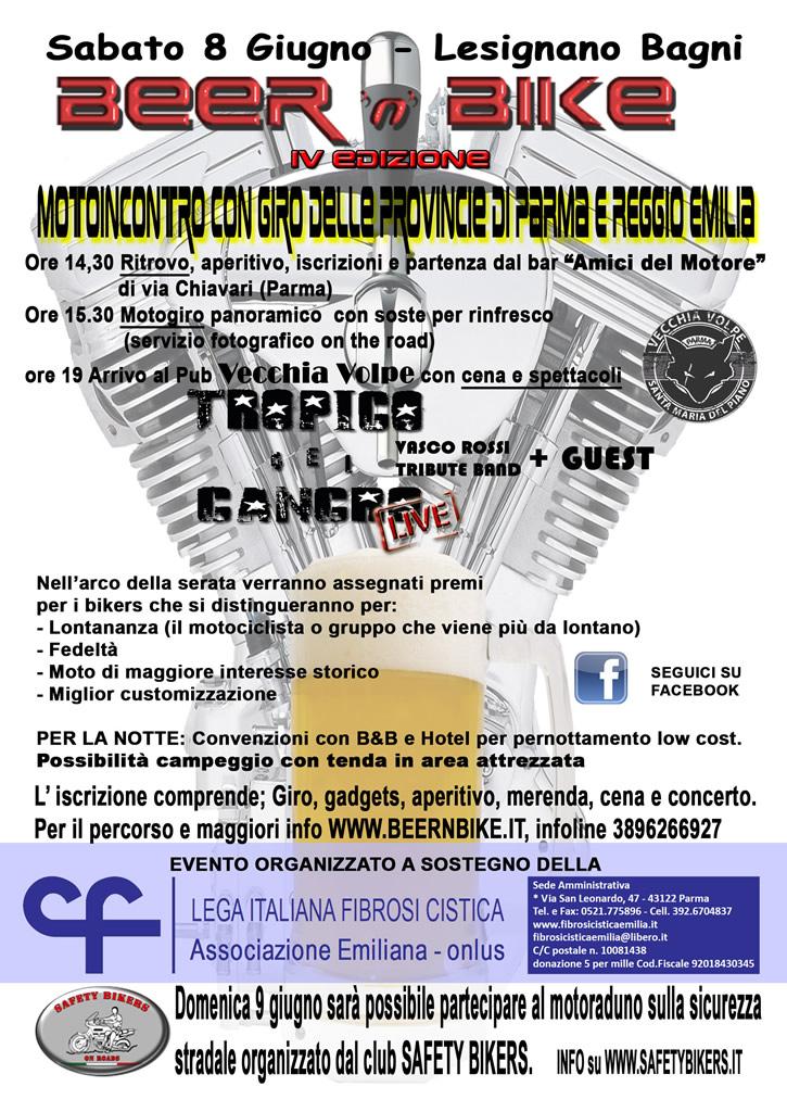 Parma: 8 Giugno Motoraduno per la fibrosi cistica