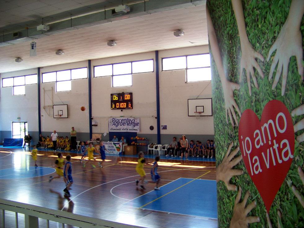 Un'altra giornata di sport e solidarietà a Calendasco