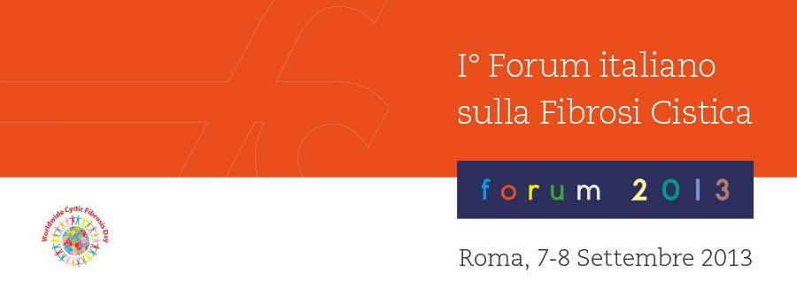 Forum italiano Fibrosi Cistica 2013