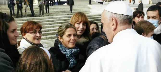 I Pazienti con fibrosi cistica ricevuti dal Papa