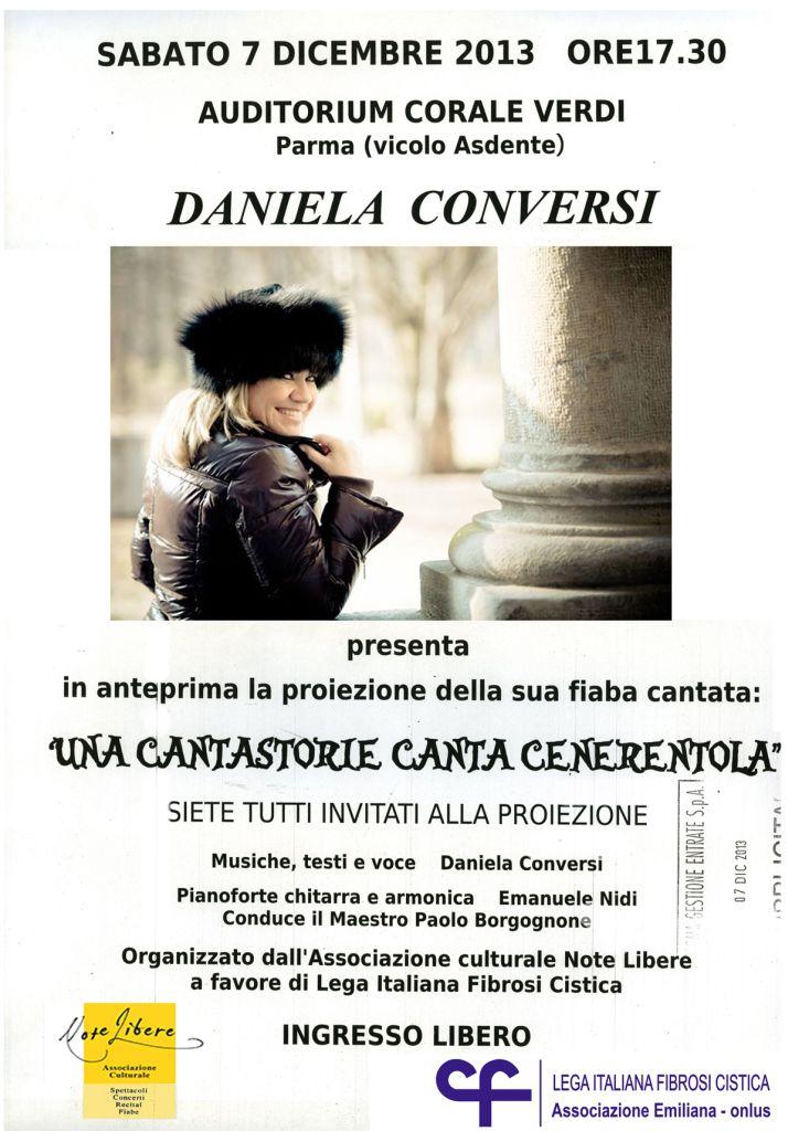 Una cantastorie canta Cenerentola – Daniela Conversi a favore della ricerca sulla fibrosi cistica