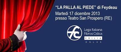Spettacolo benefico al Teatro San Prospero (RE) il 17 Dicembre 2013