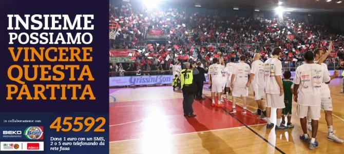 Basket for Fibrosi Cistica a Reggio Emilia!