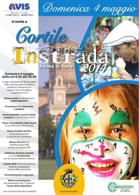 Locandina Cortile inStrada 2014