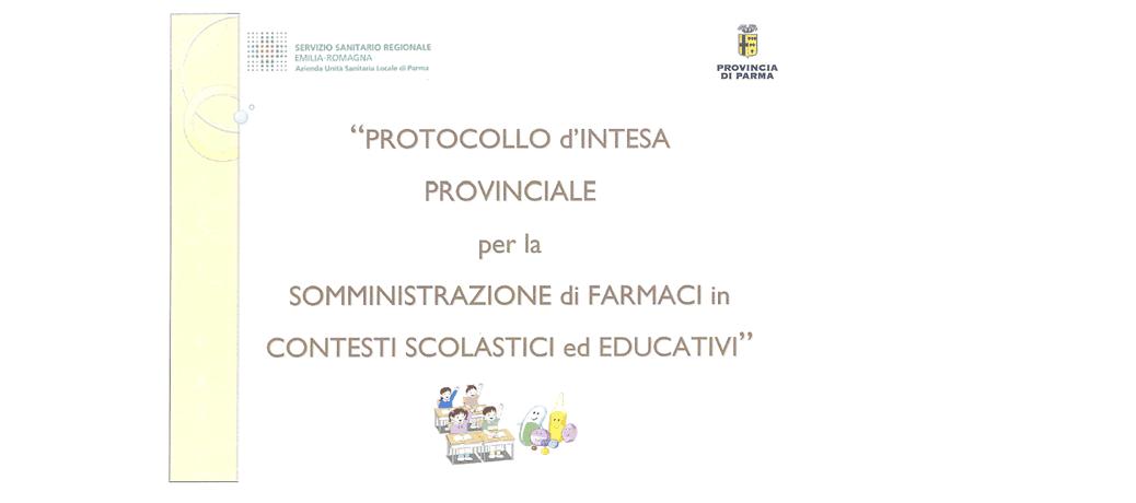 Parma: somministrazione farmaci nelle scuole