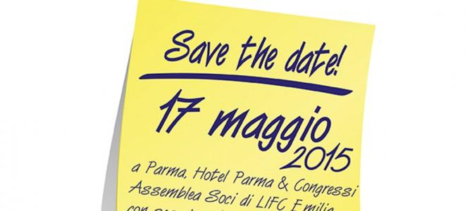 Save the date – Assemblea Lega Italiana Fibrosi Cistica, Parma 17 Maggio 2015