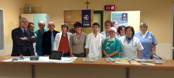 Un'importante strumentazione donata dall'Associazione Fibrosi Cistica Emilia  all'Azienda Ospedaliero-Universitaria di Parma, grazie a un benefattore anonimo