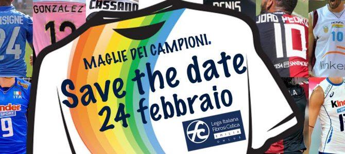L'asta benefica con le maglie dei campioni sbarca a Reggio Emilia