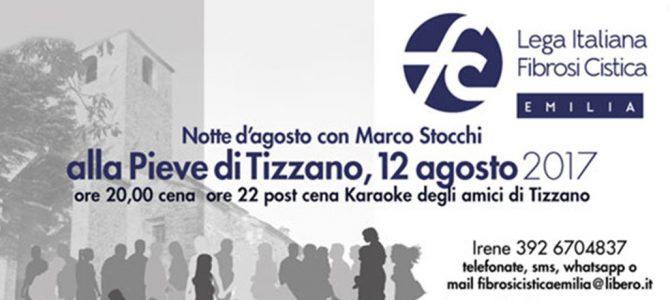 Agosto di solidarietà a Tizzano in una fresca notte d'estate