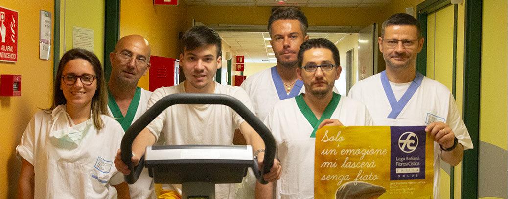 Parma, cure d'eccellenza per la fibrosi cistica