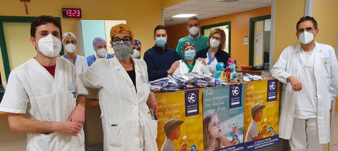 Donazione dispositivi anti-covid